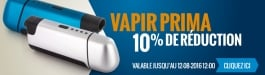 10% Réduction Vapir Prima